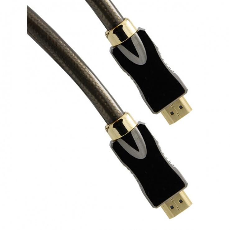 Imagine Cablu HDMI Ultra HD 4K cu Ethernet v2.0 T-T 2m, Roline 11.04.5681