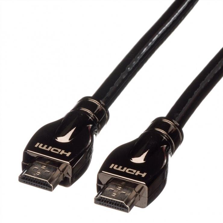 Imagine Cablu HDMI Ultra HD cu Ethernet T-T 20m, Roline 11.04.5687-1