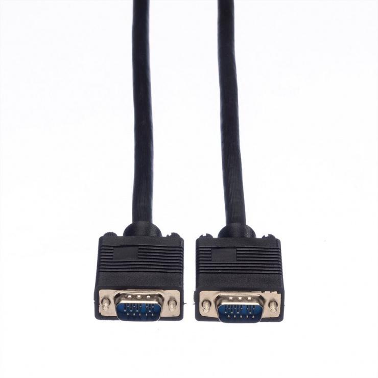 Imagine Cablu SVGA 14 pini ecranat T-T 6m, Value 11.99.5256-1