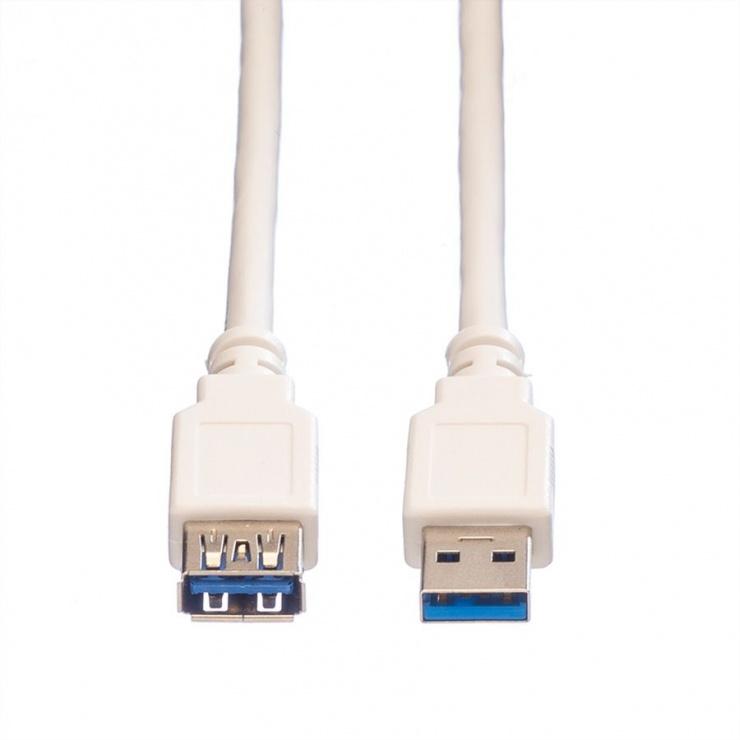 Imagine Cablu prelungitor USB 3.0 T-M 0.8m, Value 11.99.8977-1
