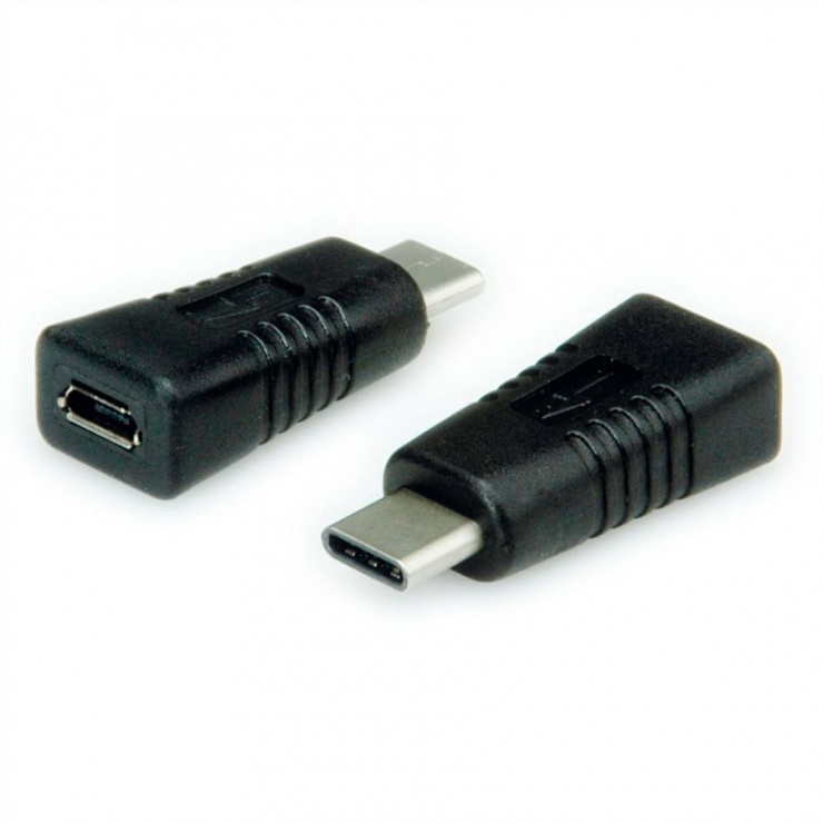 Imagine Adaptor USB tip C 2.0 la micro USB T-M, Value 12.99.3190-4