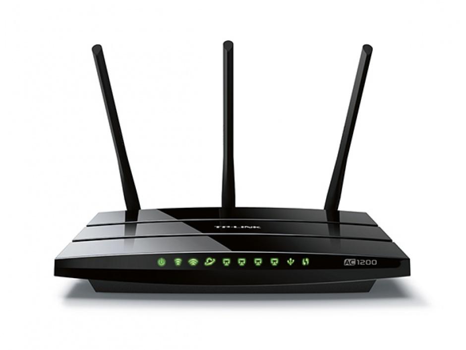 Imagine AC1200 Wireless Dual Band Gigabit Router, TP-LINK Archer C1200