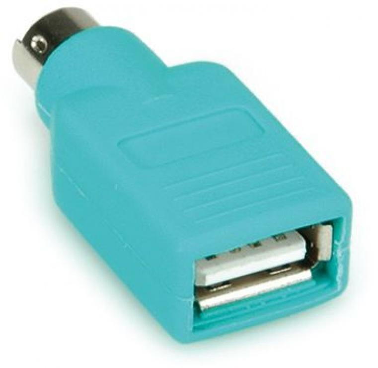Imagine Adaptor PS/2 la USB pentru mouse T-M, Value 12.99.1072