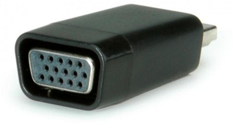 Imagine Adaptor MYCON HDMI la VGA T-M Negru, CON3208