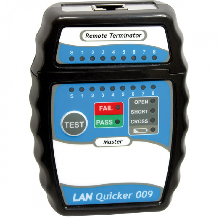 Imagine Tester retea RJ45 indicator LED, Value 13.99.3001