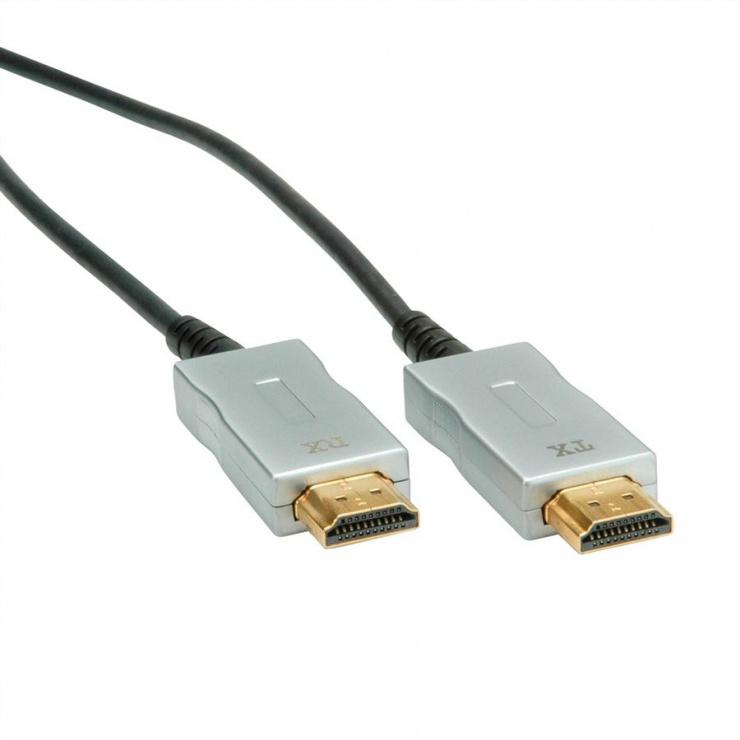 Imagine Cablu UHD HDMI Activ Optical (AOC) 4K@60Hz T-T 50m, Roline 14.01.3482