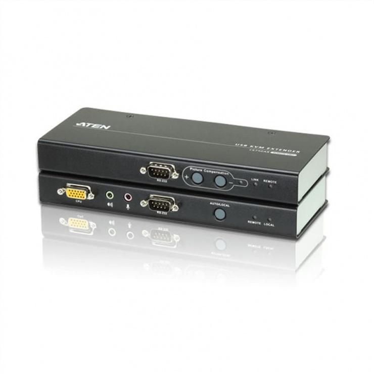 Imagine KVM Extender USB VGA/Audio Cat 5 maxim 200m, Aten CE750A