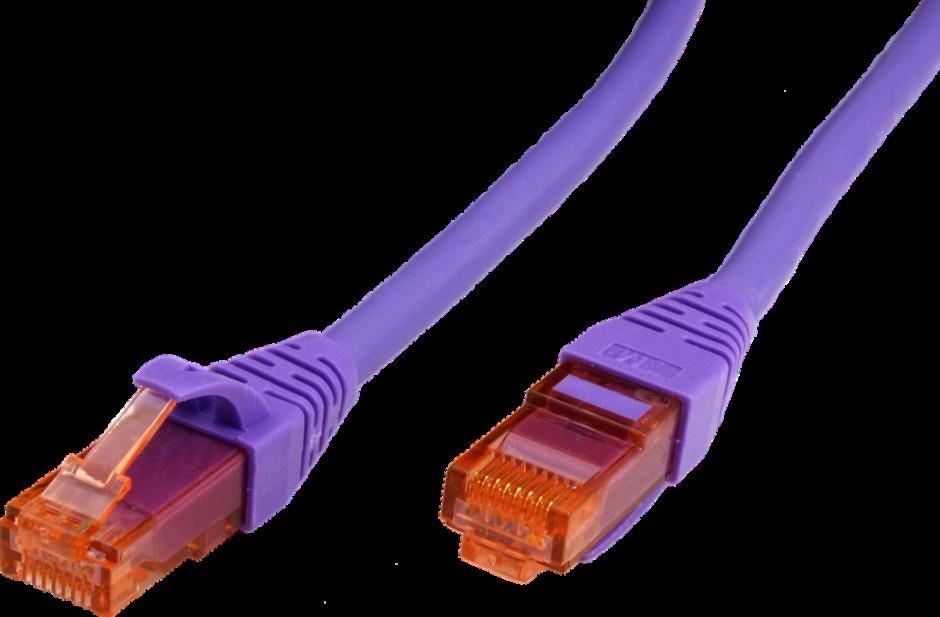 Imagine Cablu de retea UTP Cat.6 Component Level LSOH violet 10m, Roline 21.15.2907