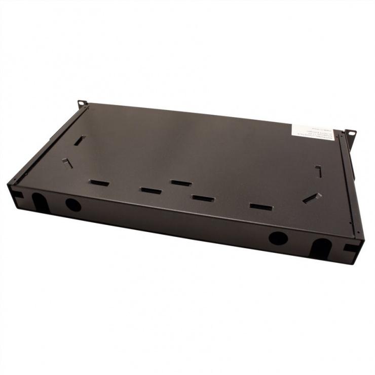 "Imagine Panel 19"" (caseta fara conectori) Fibra optica 1U extendable 24x SC-DX quadruple, Value 21.99.0650"