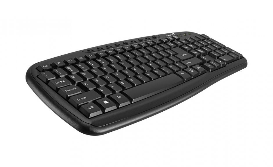Imagine Tastatura Multimedia KB-M225C USB, Genius  31310479100