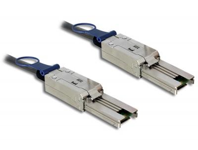 Imagine Cablu Mini SAS SFF-8088 la Mini SAS SFF-8088 2m, Delock 83571