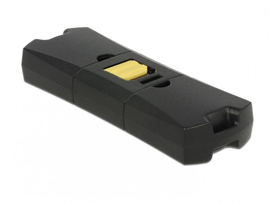 Imagine Cititor de carduri Micro USB OTG + USB 2.0-A, Delock 91735