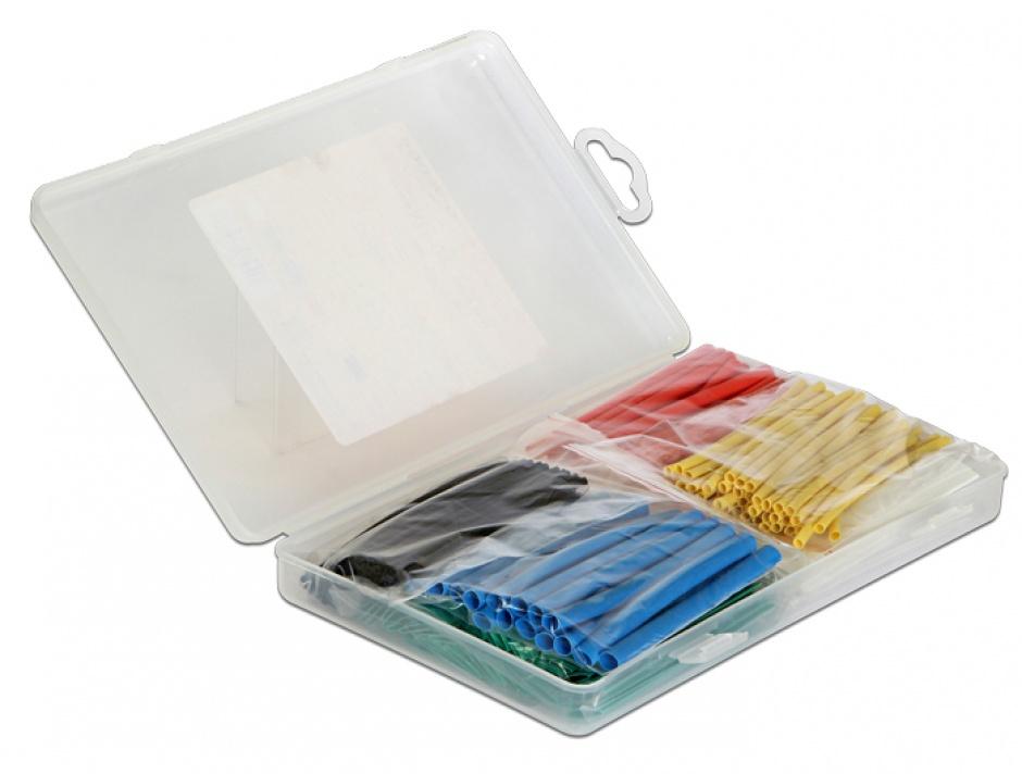 Imagine Tuburi termocontractabile colorate 230 buc/set, Delock 86278