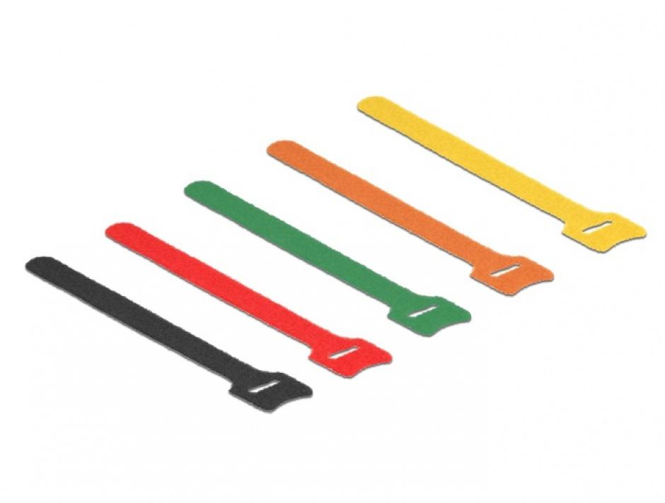 Imagine Curele colorate pentru prindere cabluri 150 mm x 12 mm, Delock 18701