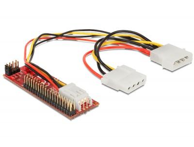 Imagine Convertor SATA la IDE 40 pini, Delock 62510-1