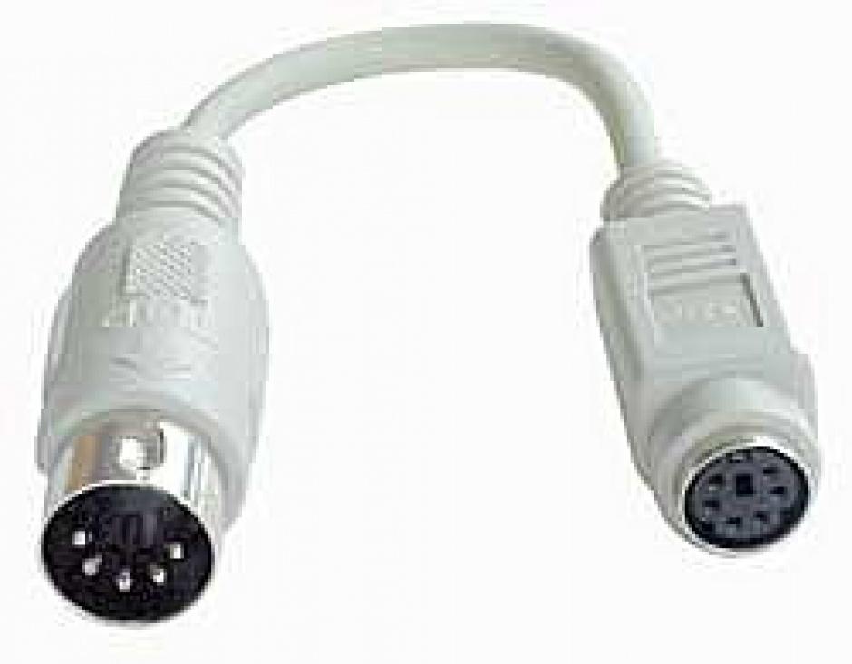 Imagine Adaptor PS/2 la AT M-T 0.15m, Lindy L70139