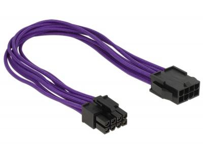 Imagine Cablu prelungitor alimentare 8 pini EPS T-M 30cm, Delock 83702