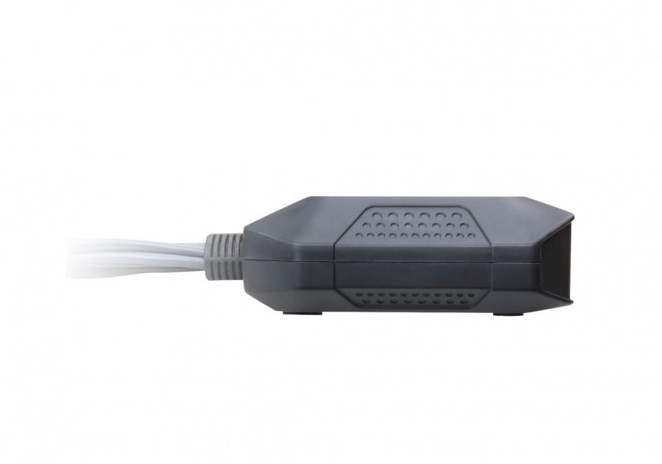 Imagine Switch KVM 2 porturi DisplayPort USB, ATEN CS22DP