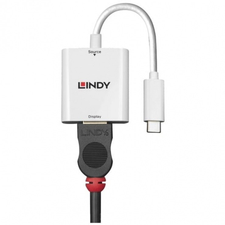 Imagine Adaptor USB 3.1-C la HDMI 4K T-M, Lindy L43244-1