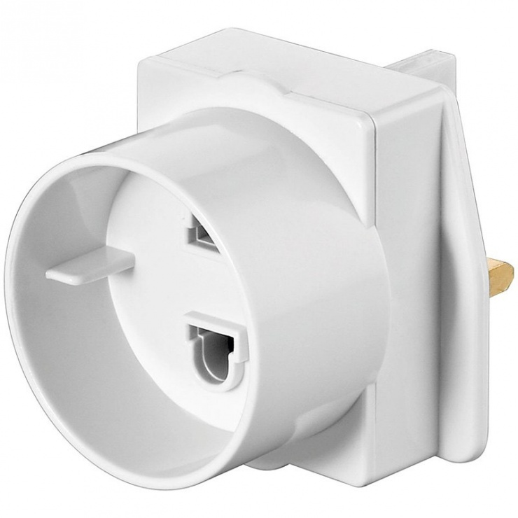 Imagine Adaptor priza Europa la UK, Goobay 93255
