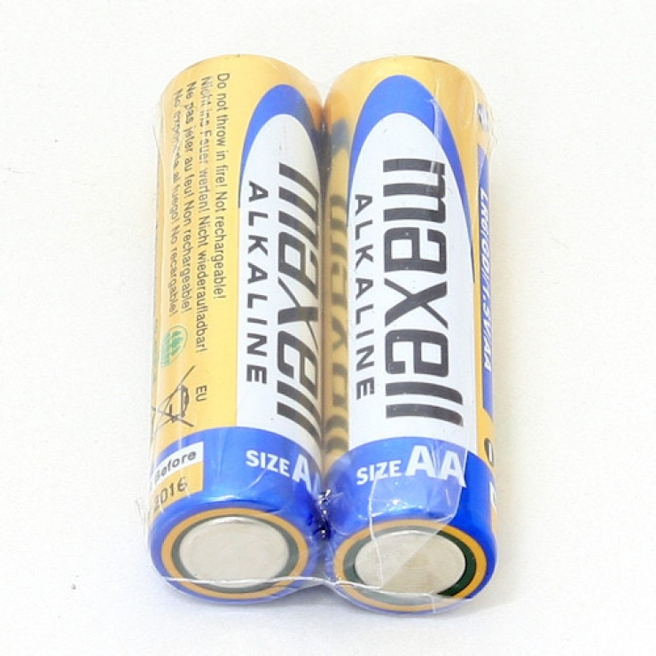 Imagine Baterie alcalina AA LR6 2buc/set Maxell