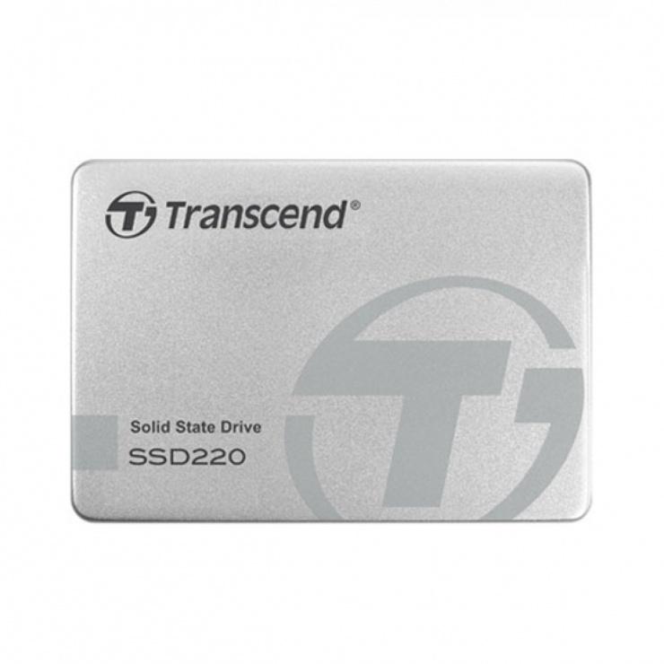 Imagine SSD TRANSCEND SSD220S 240Gb TLC NAND SATA 3 Aluminium