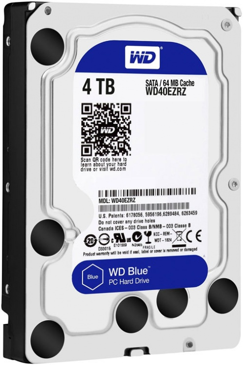 "Imagine HDD 4TB 5400 64M S-ATA3 ""4TRZ"" WD ""WD40EZRZ"""