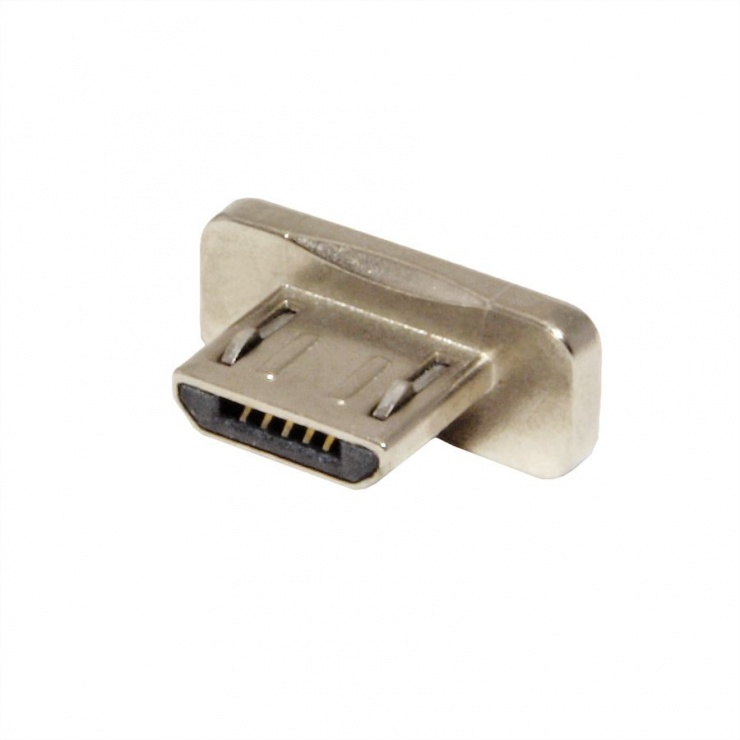 Imagine Conector magnetic micro USB-B 3 buc pentru 11.02.8312, Roline 11.02.8313-2