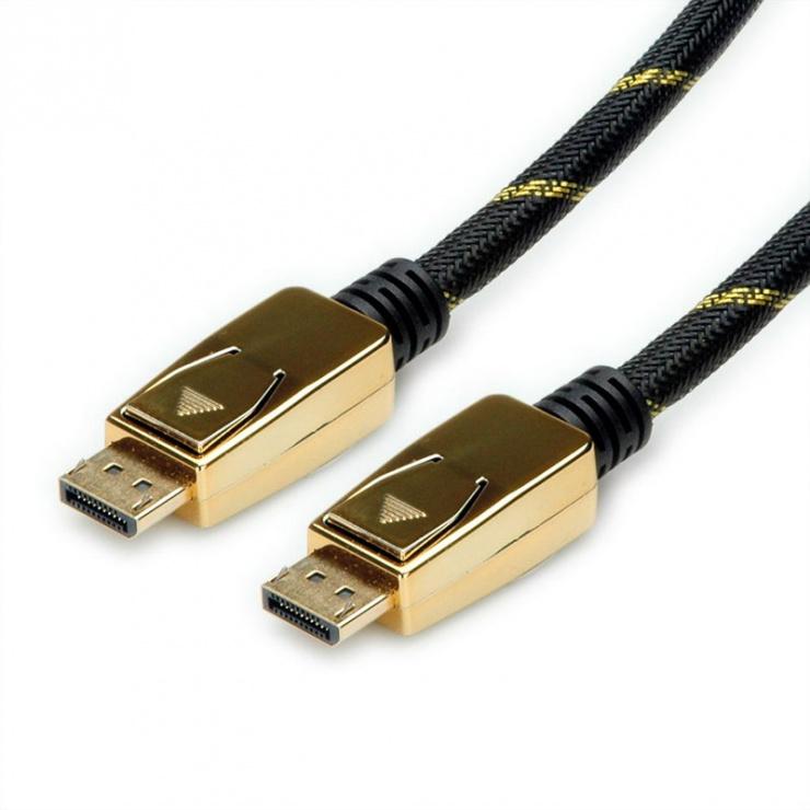 Imagine Cablu Displayport 8K@30Hz Ultra HD T-T 2m, Roline 11.04.5921-1