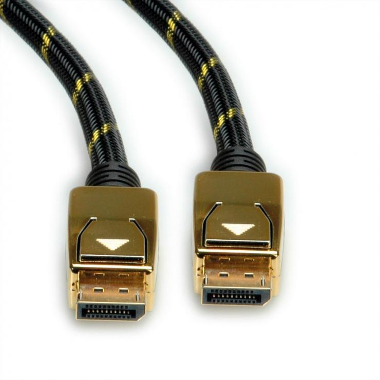 Imagine Cablu Displayport 8K@30Hz Ultra HD T-T 1m, Roline 11.04.5920-1