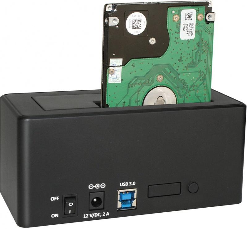 "Imagine Docking station HDD SATA 2.5""+3.5"" la USB 3.0, Roline 16.01.4121"