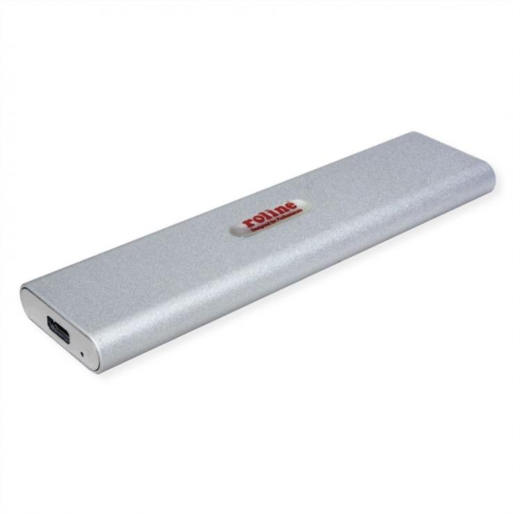 Imagine Rack extern USB 3.1-C pentru SSD M.2 NVME, Roline 16.01.4146