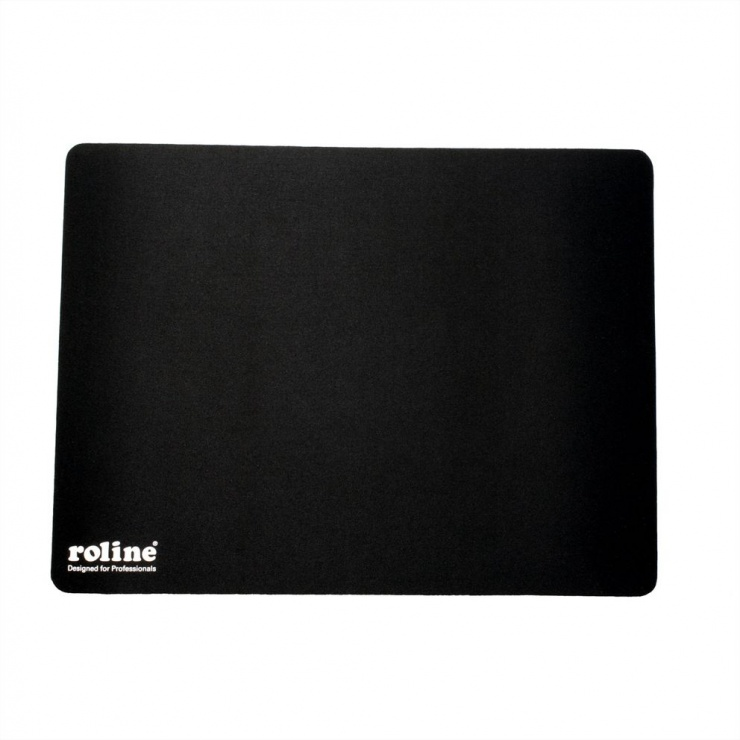 Imagine Mouse pad Gaming soft 350x260mm Negru, Roline 18.01.2044-2
