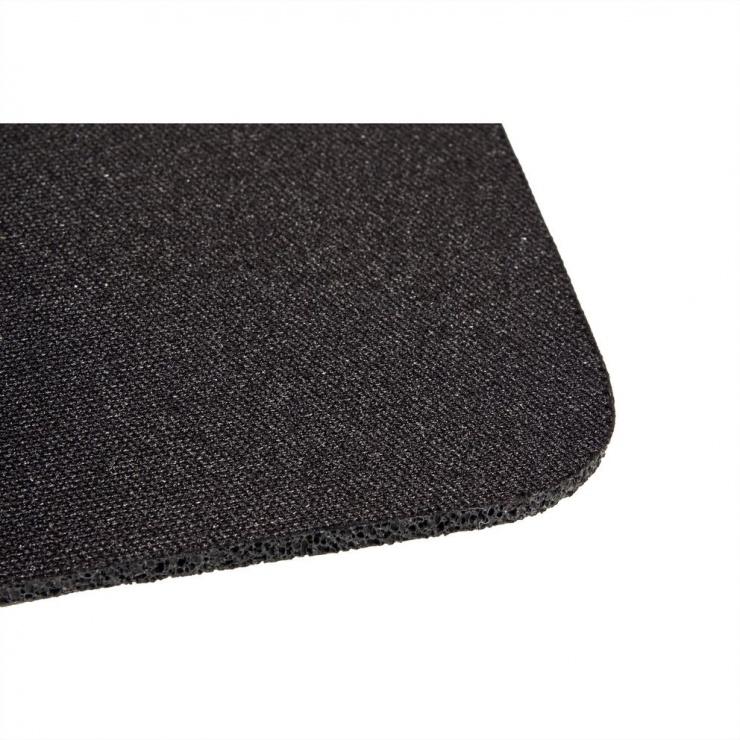 Imagine Mouse pad Gaming soft 350x260mm Negru, Roline 18.01.2044-1