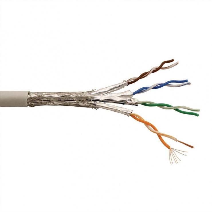 Imagine Rola cablu de retea SFTP Cat.6A 300m, Roline 21.15.0882