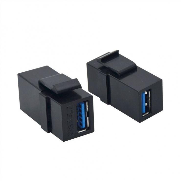 Imagine Keystone USB 3.0  M-M negru, Value 25.99.8207