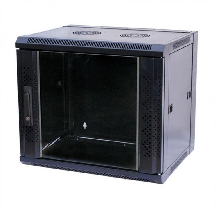 """Imagine Cabinet perete/Rack 19"""" 15U 775x570x450mm, Value 26.99.0154"""