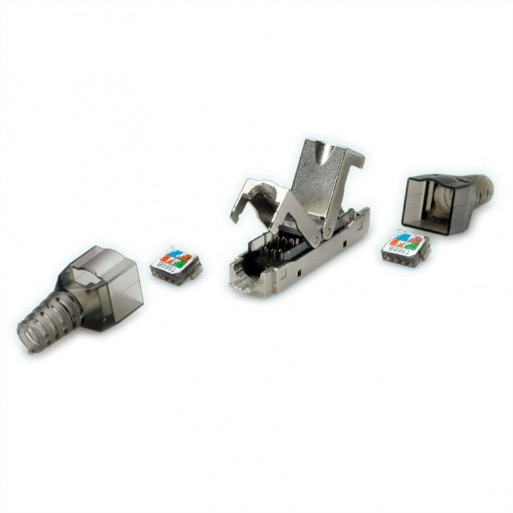 Imagine Cupla retea RJ45 cat 6A STP, Value 26.99.0380