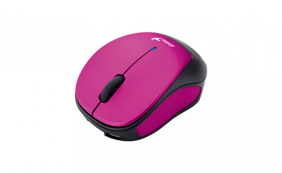 Imagine Mouse USB wireless Micro Traveler 9000R Pink, Genius  - 3
