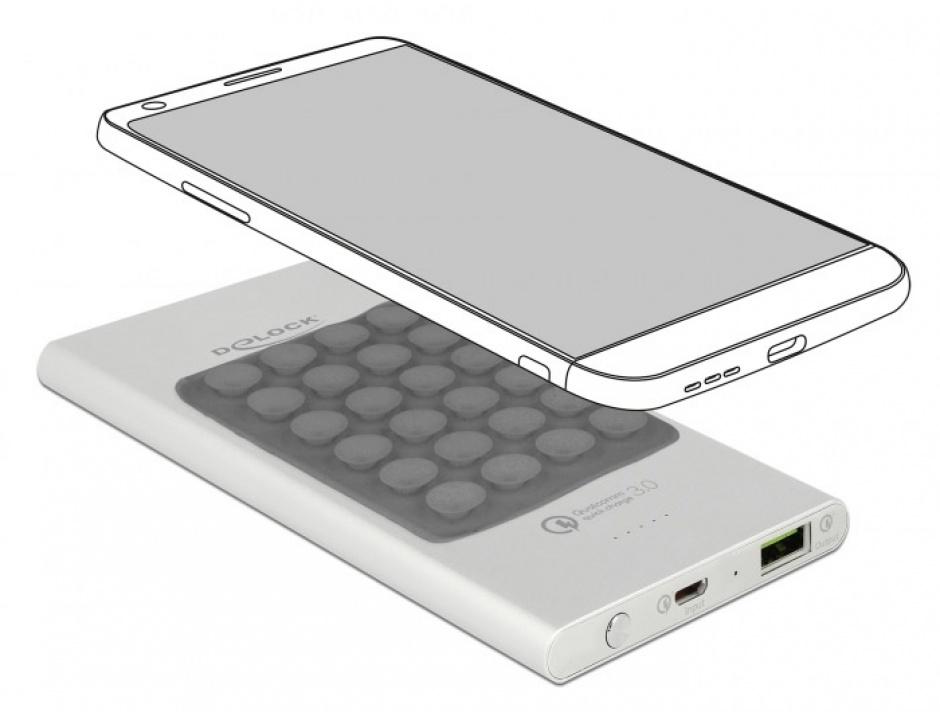 Imagine Baterie externa 5000 mAh 1 x USB-A Qualcomm Quick Charge 3.0, Delock 41503-1