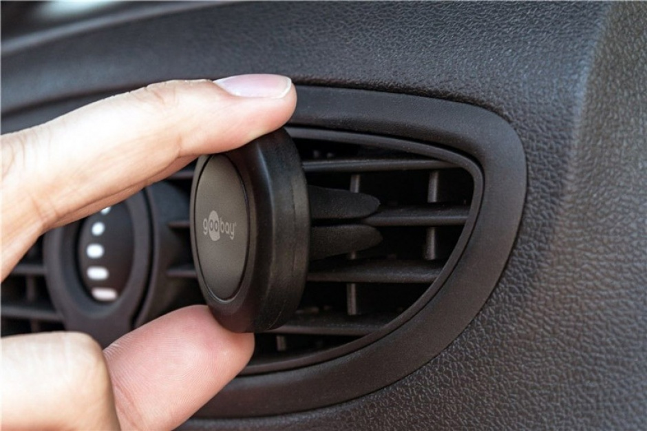 Imagine Suport magnetic auto pentru smartphone (45mm), Goobay 47145-5