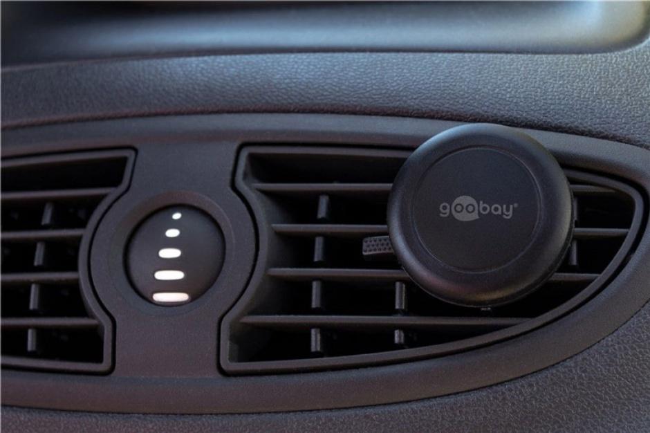 Imagine Suport magnetic auto pentru smartphone (45mm), Goobay 47145-8