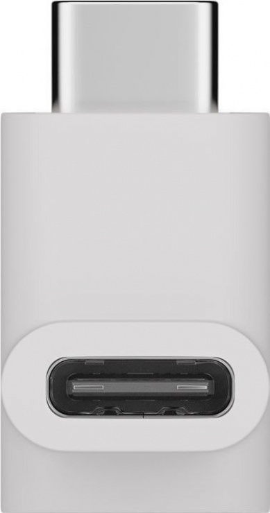 Imagine Adaptor USB-C 3.1 unghi 90 grade T-M Alb, Goobay 55557-2