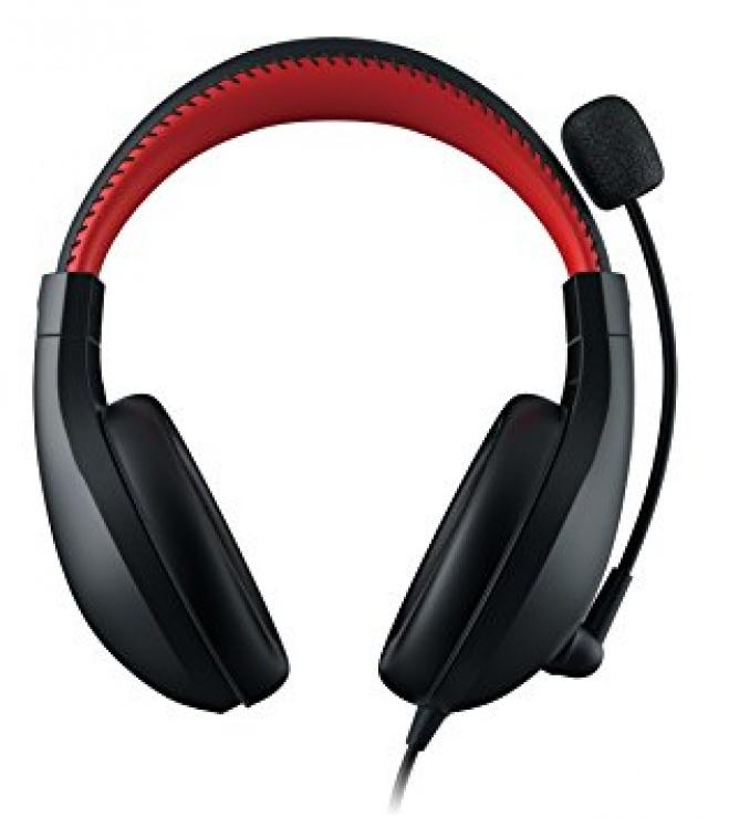 Imagine Casti GENIUS HS-520 cu microfon noise cancelling, gaming, black&red