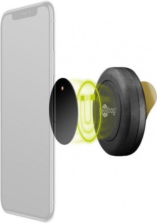Imagine Suport magnetic universal self-adhesive (45mm), Goobay 62089-3