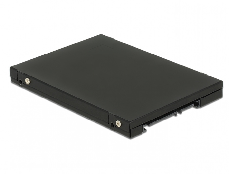 "Imagine Convertor 2.5"" SATA 22 pini la 1 x M.2 key B + 1 x mSATA 9.5mm, Delock 62866-2"