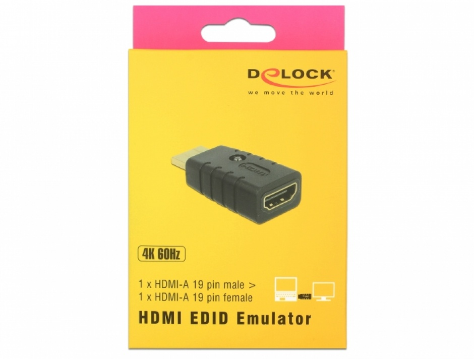 Imagine Adaptor HDMI T-M EDID Emulator, Delock 63320