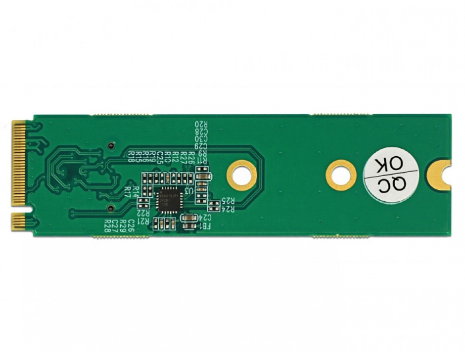 Imagine Convertor M.2 Key M la OCuLink SFF-8612, Delock 64040-2