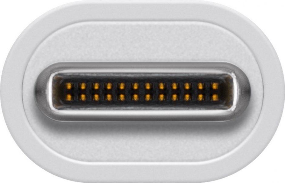 Imagine Adaptor USB-C 3.0 la USB-A T-M Alb, Goobay 66262-2