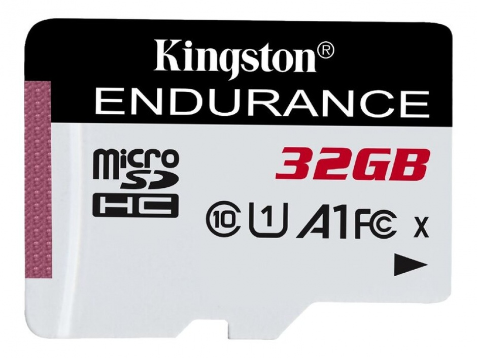 Imagine Card de memorie micro SDHC 32GB clasa 10 UHS-I High Endurance, Kingston SDCE/32GB